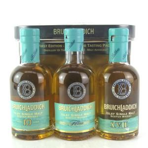 Bruichladdich Wee Laddie Tasting Pack 3 x 20cl / 10, 15, 17 Year Old
