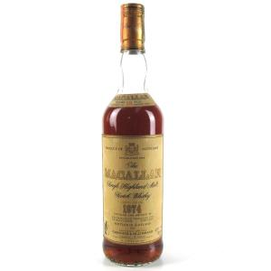 Macallan 18 Year Old 1974 / Giovinetti Import