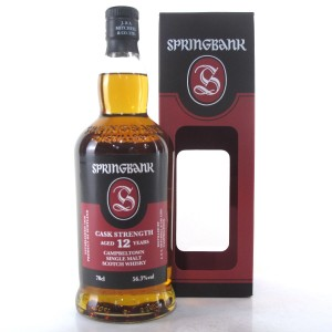 Springbank 12 Year Old Cask Strength / 56.3%