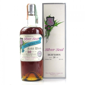 Dufftown 1981 Silver Seal 20 Year Old