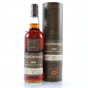 Glendronach 1993 Single Cask 24 Year Old #656 / UK Exclusive