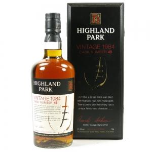 Highland Park 1984 Single Cask #45