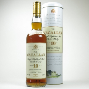 Macallan 10 Year Old 1990s Tin