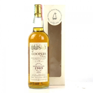 Highland Park 1989 Cooper's Choice 13 Year Old