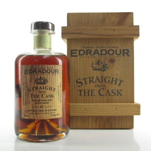 Edradour 1995 Straight from the Cask 10 Year Old / Sherry Butt