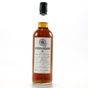 Springbank 1997 Springbank Society 18 Year Old / Re-Charred Sherry Butt