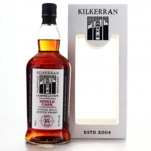 Kilkerran 2004 Single Port Cask 15 Year Old / 15th Anniversary