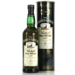 Famous Grouse 1987 Vintage Malt 12 Year Old