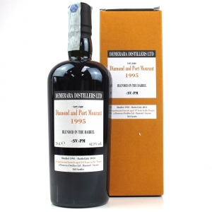 Diamond Distillery and Port Mourant 1995 Blended in the Barrel Rum