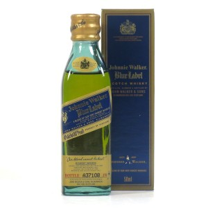 Johnnie Walker Blue Label Miniature 5cl