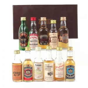 Whisky Galore Miniature Pack 11 x 5cl Circa 1970s