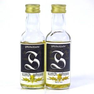 Springbank Miniature Selection x 2