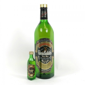 Glenfiddich Special Reserve 1 Litre and 5cl
