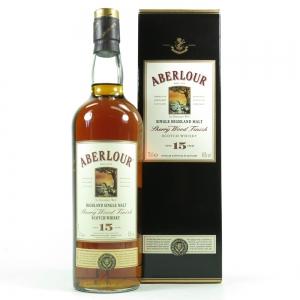 Aberlour 15 Year Old Sherry Wood Finish