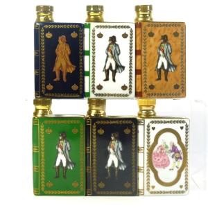 Camus Napoleon Bicentenary Cognac Miniature Decanter x 6 1969
