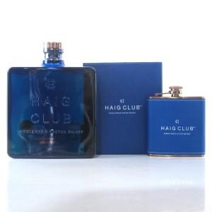 Haig Club Single Grain / with Hip Flask