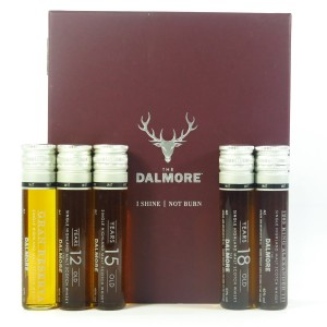 Dalmore 'I Shine Not Burn' Vial Gift Pack / 5 x 4cl