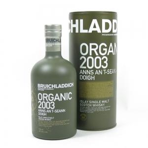 Bruichladdich Organic 2003 Front