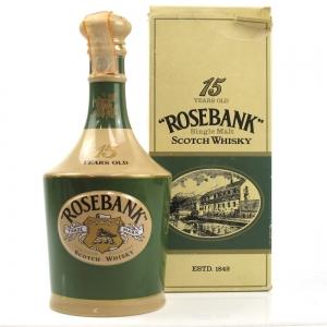 Rosebank 15 Year Old Spode Decanter Circa 1980s/ Zenith Import