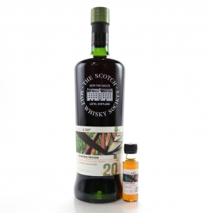 Bowmore 20 Year Old SMWS 3.307 with Miniature 2.5cl / Feis Ile 2018