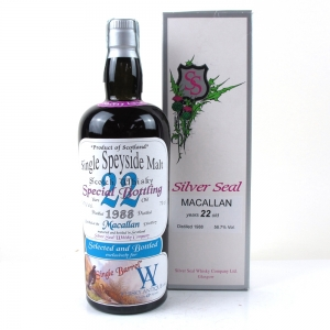 Macallan 1988 Silver Seal 22 Year Old