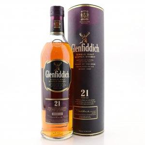 Glenfiddich 21 Year Old / Caribbean Rum Finish
