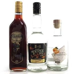 Fruit Liqueur Selection 3 x 50cl