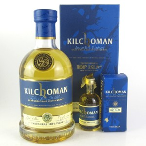 Kilchoman Inaugural 100% Islay / with Miniature 5cl