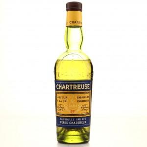 Chartreuse de Tarragona Yellow Label Half Bottle 1950s