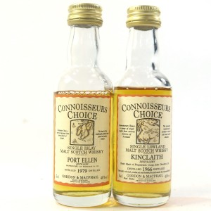 Gordon and MacPhail Miniature Selection x 2 / Including Kinclaith 1966