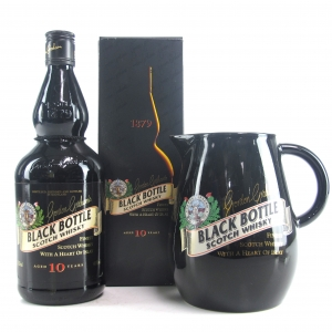 Black Bottle 10 Year Old / Including Branded Water Jug