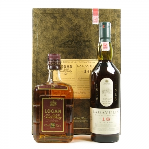 Lagavulin 16 Year Old White Horse and Logan 12 Year Old Gift Pack