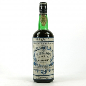 Madeira 1912 Madeira Adega Vinhos Funchal