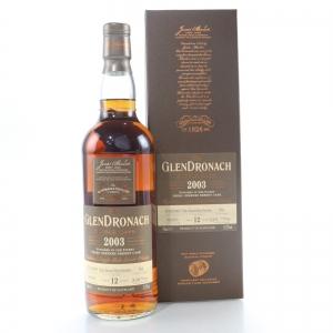 Glendronach 2003 Single Cask 12 Year Old #934