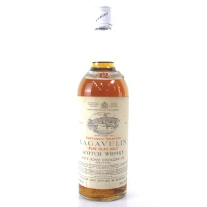 Lagavulin 12 Year Old White Horse 1970s