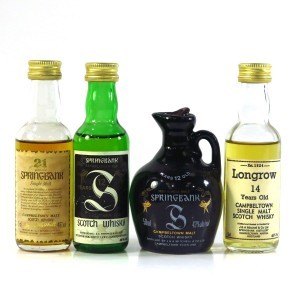 Springbank Miniature Selection x 4