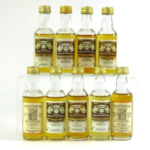 Gordon and MacPhail Miniature Selection x 9 / Including Caol Ila 1972