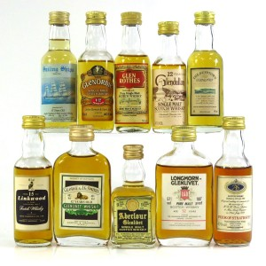 Speyside Miniature Selection x 10