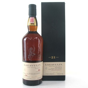 Lagavulin 21 Year Old 2007 Release 75cl / US Import