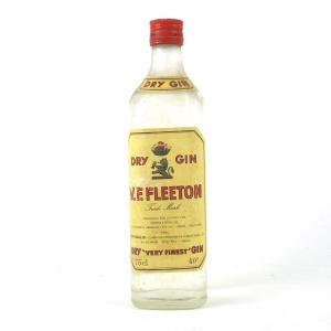 V.F. Fleeton Dry Gin 1960s