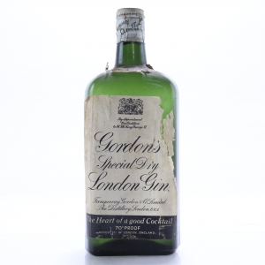 Gordon's Special Dry London Gin 1960s