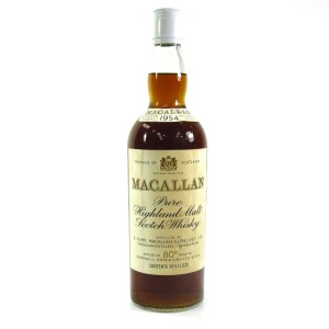 Macallan 1954 Campbell Hope and King