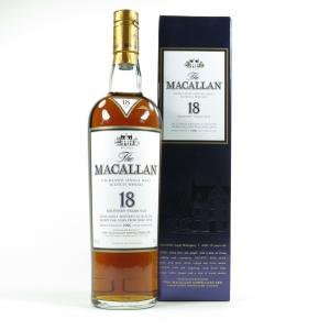 Macallan 1996 18 Year Old