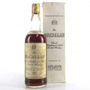Macallan 1962 Campbell, Hope and King / Rinaldi Import