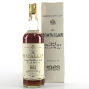 Macallan 1963 Gordon & MacPhail / Rinaldi Import