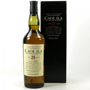 Caol Ila 25 Year Old Cask Strength 2005 Release