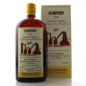 Hampden 2010 Habitation Velier 6 Year Old Jamaican Rum / HLCF