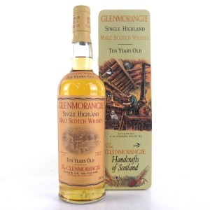 Glenmorangie 10 Year Old / Handcrafts of Scotland Tin
