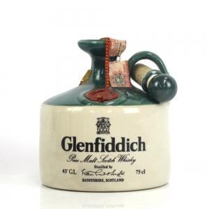Glenfiddich Pure Malt Stoneware Decanter 1980s