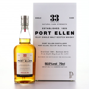 Port Ellen 1981 Single Cask 33 Year Old #1295